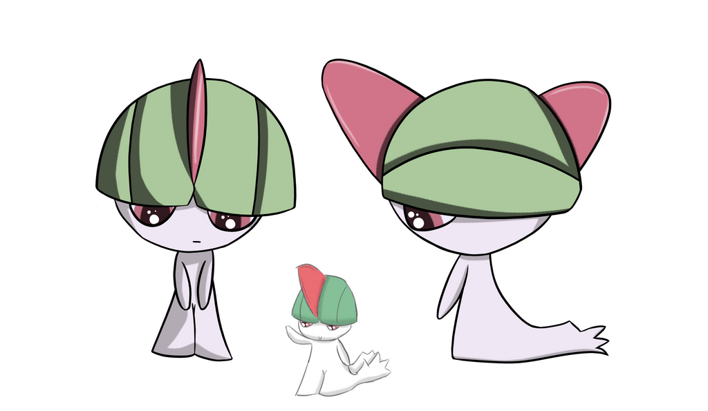 #280 - Ralts by Zhooves