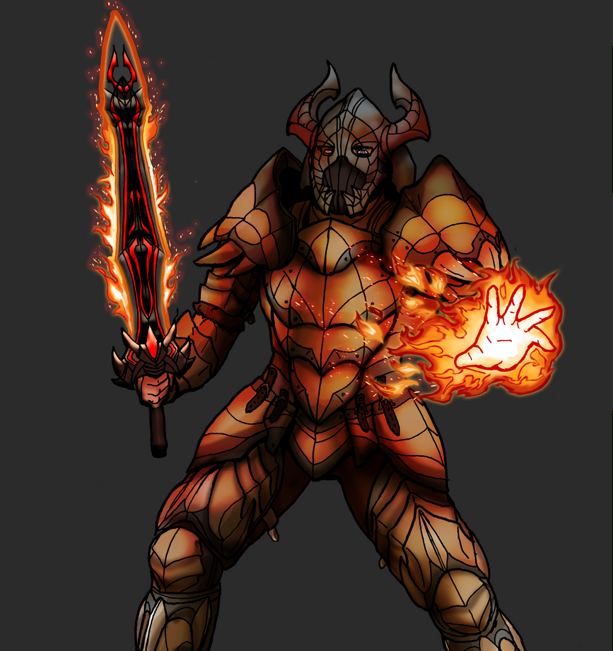 Throthgar Dragonborn Hero custom design by OutlawTornDOA