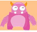 Monster Pink by Teffi-Cute