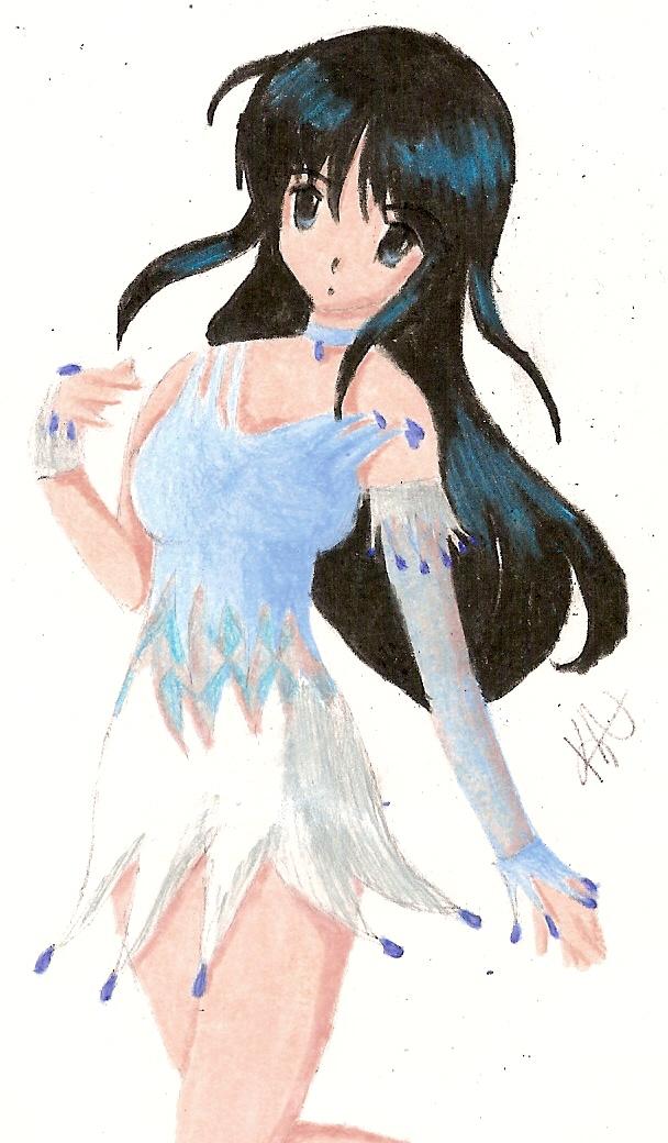 Ice Skating Dress Sketch by thekrazehkitteh on DeviantArt