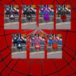 MUA MODS - SPIDERMAN VARIANTS SKINS PACK 1
