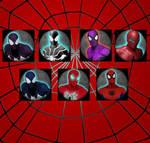 MUA MODS - SPIDERMAN VARIANTS HUDS  PACK 1