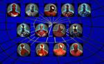MUA MODS - SPIDERMAN VARIANTS HUDS PACK 2