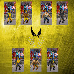MUA MODS - WOLVERINE MH SKINS PACK