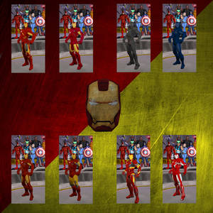 MUA MODS - IRON MAN SKINS PACK