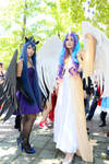 Princess Luna and Princess Celestia  COSPLAY