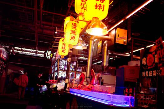Cyberpunk Nightmarket