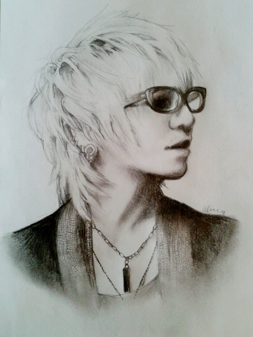 Ruki Portrait -Fool's Mate no. 3- by HayleyFeatRuki