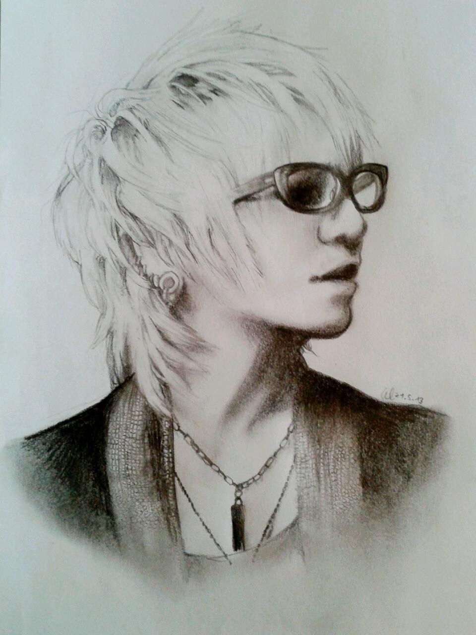 Ruki Portrait -Fool's Mate no. 3- by HayleyFeatRuki