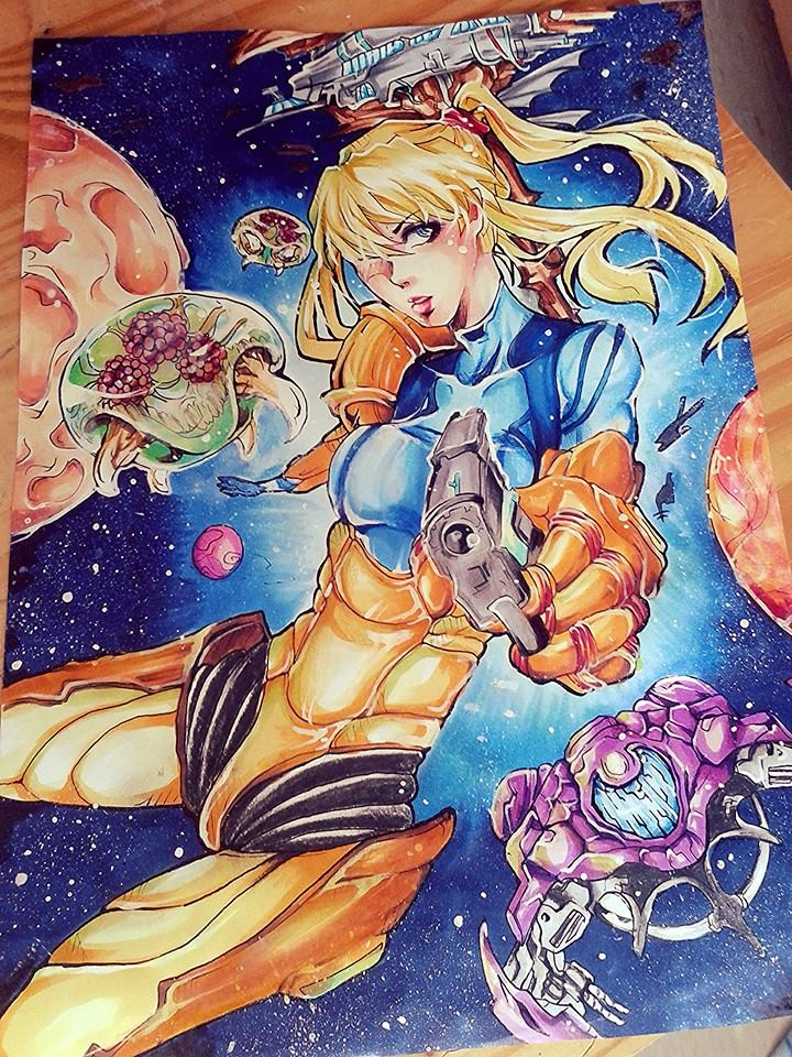 See You Next Mission Samus Aran Metroid Fanart By HayleyFeatRuki