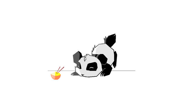 Chibi Panda By XXAikoYamashitaXx