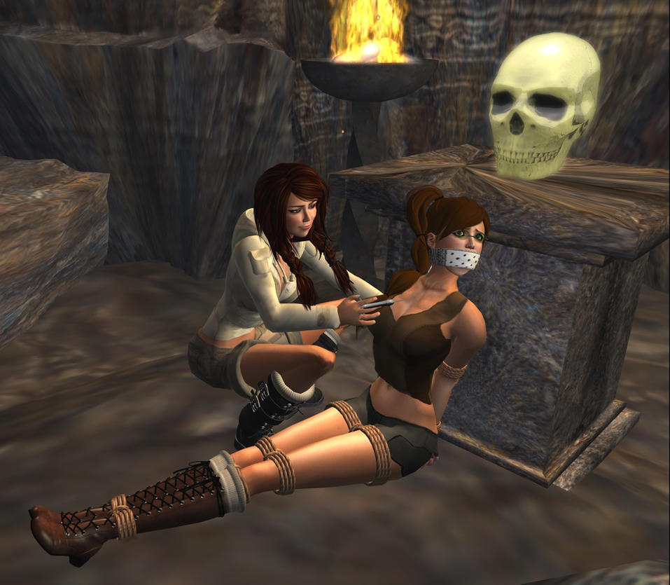 Lara croft tied sex clips