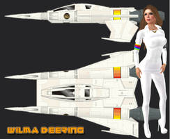 Wilma Deering by EthereaS