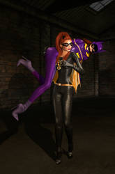 Batgirl Gets Carried Away by EthereaS