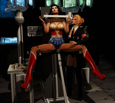Wonder Woman: Bad Vibrations by EthereaS