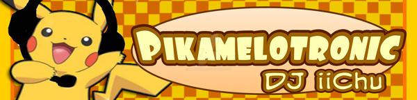 DJ iiChu - Pikamelotronic (DDR) Banner by ImpishPika