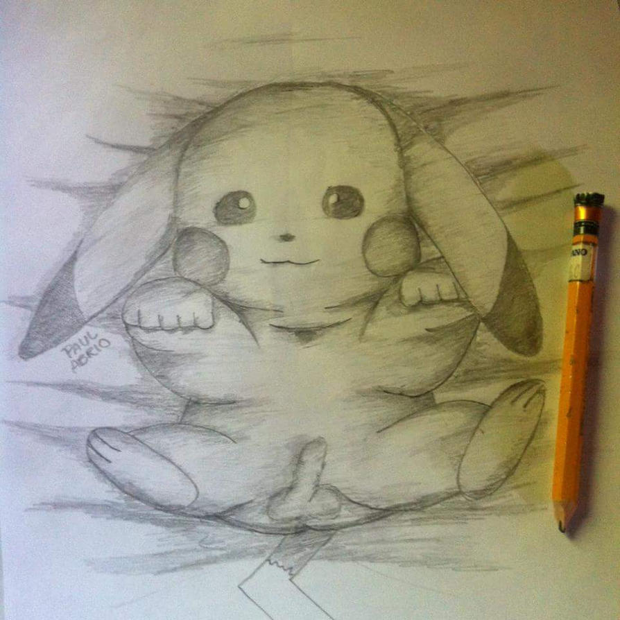 Pika's Childhood by ImpishPika