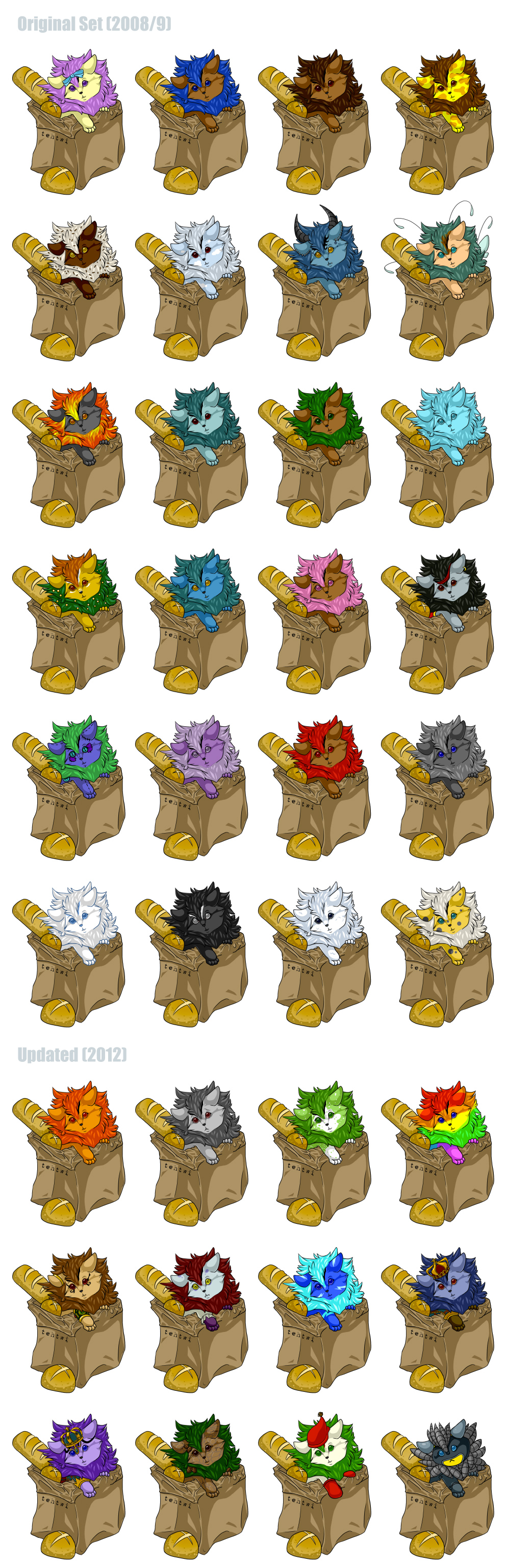 Neopets Bread Bag Xweetok Adoptables Updated By Tehtwi