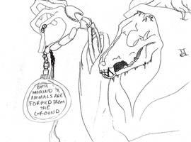 The Narrator - Sketch by Reitom-Wolf