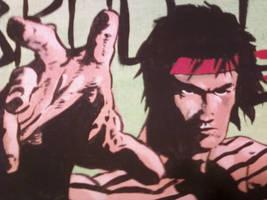 Bruce Lee Close-up