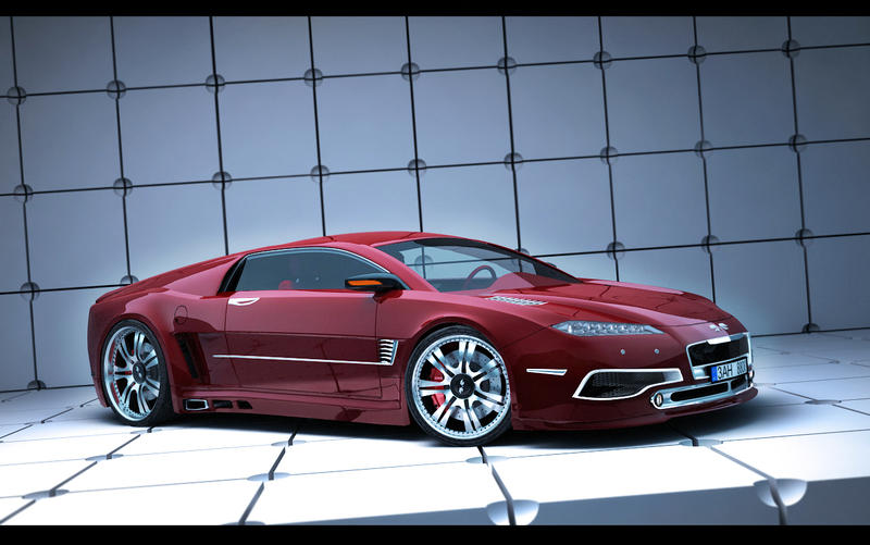 Concept car by M0NTEZUMA