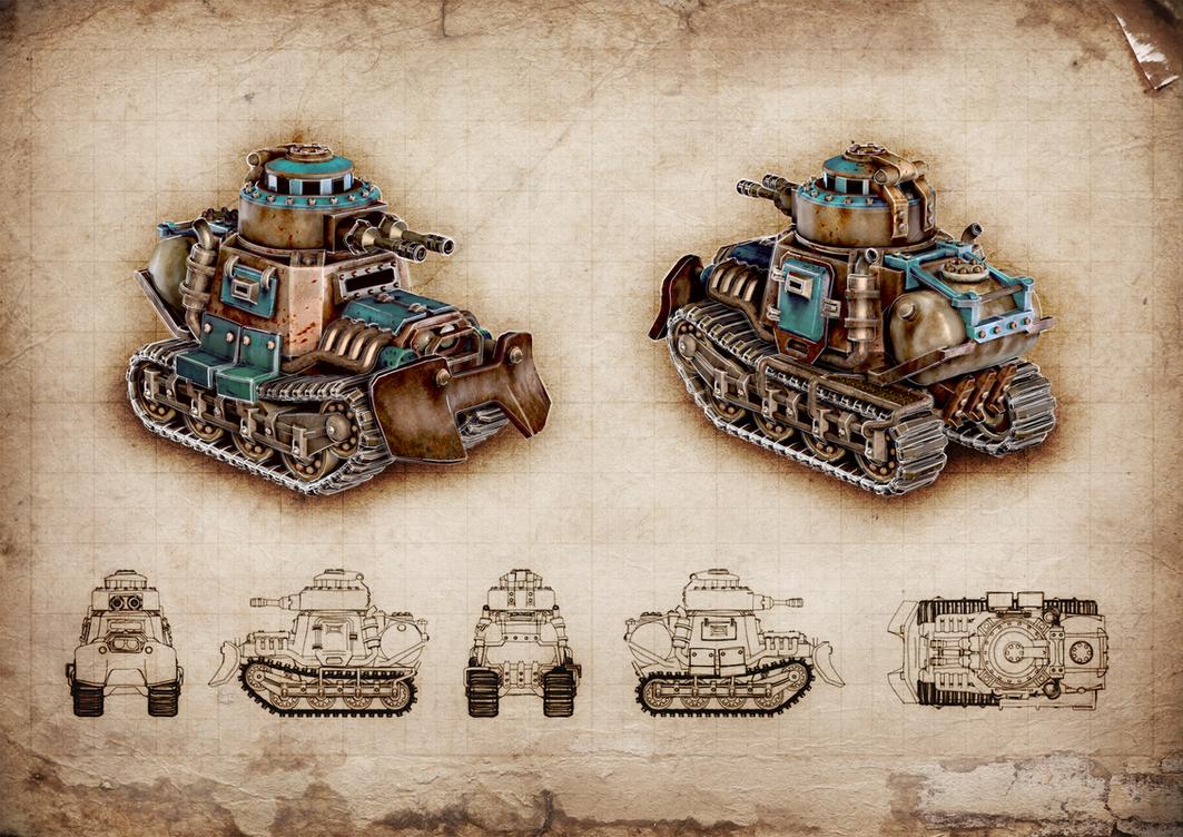 Tank by M0NTEZUMA