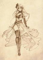 Commission: Sana Grace by silviacaballero