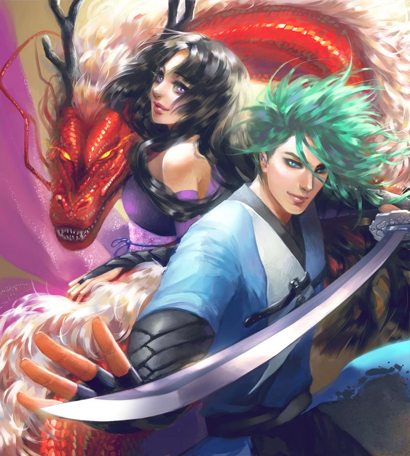 Cartel Salon del Manga XVIII 2012 by silviacaballero