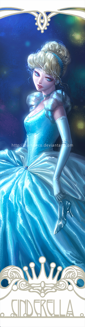 Disney Princesses Bookmarks: Cinderella