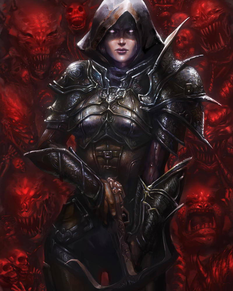 Diablo III Fan Art Contest by hart-coco