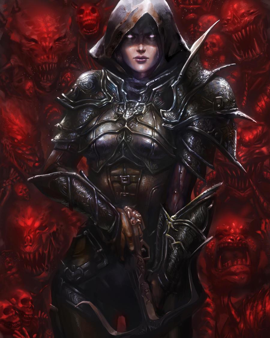 Diablo III Fan Art Contest by hart-coco
