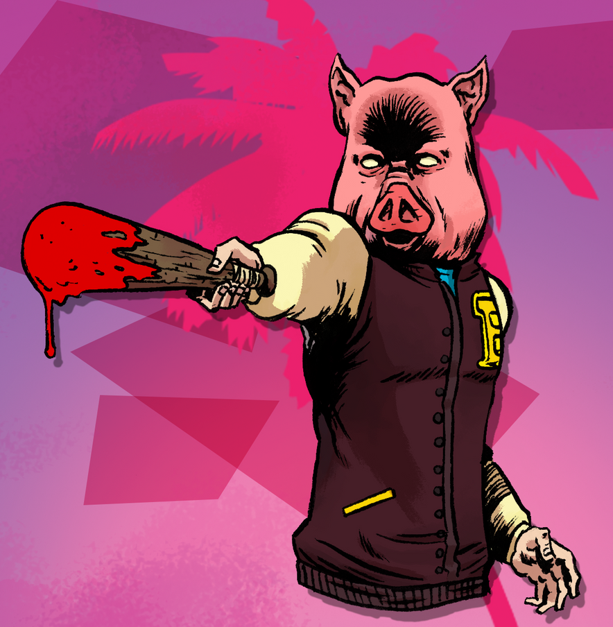 Mask List - Hotline Miami Wiki Guide - IGN |Hotline Miami Pig Mask Rubber