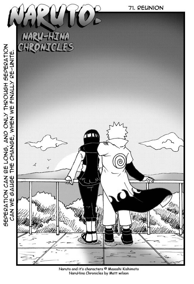 Naruto: NaruHina Ch71 Cover by mattwilson83