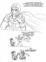 Magneto is unstoppable by mattwilson83