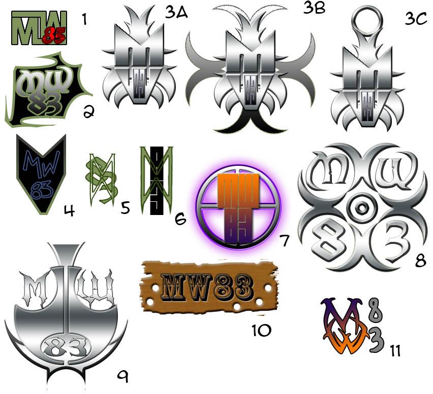 RANDOM: MW83 logos by mattwilson83