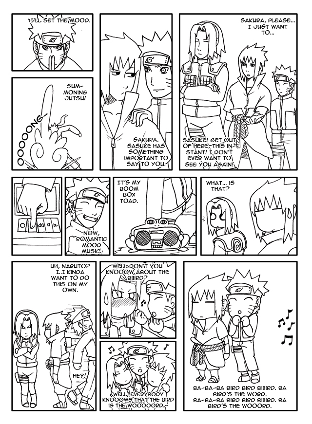 SasuSaku: the word by mattwilson83