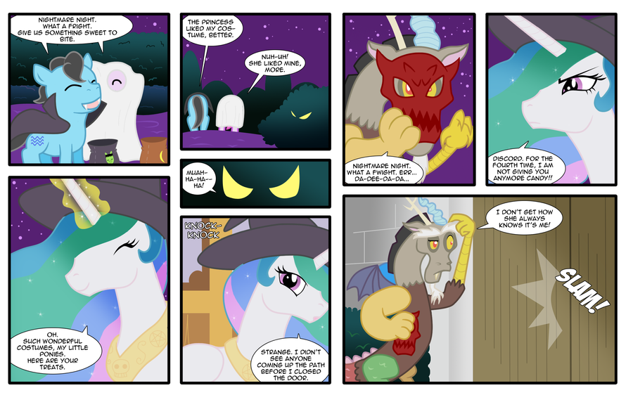 MLP: Nightmare Night 2011 by mattwilson83