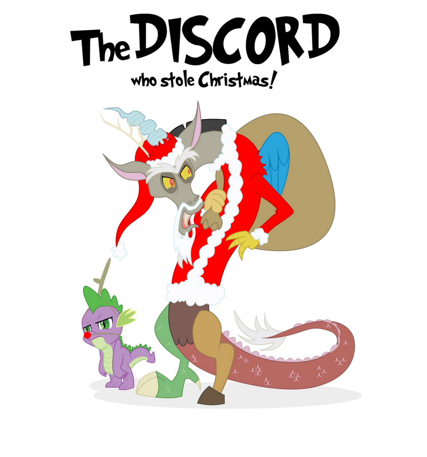 The Discord who stole christmas by mattwilson83 on DeviantArt