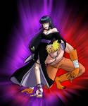 Dark Queen Hinata and Beast master Naruto