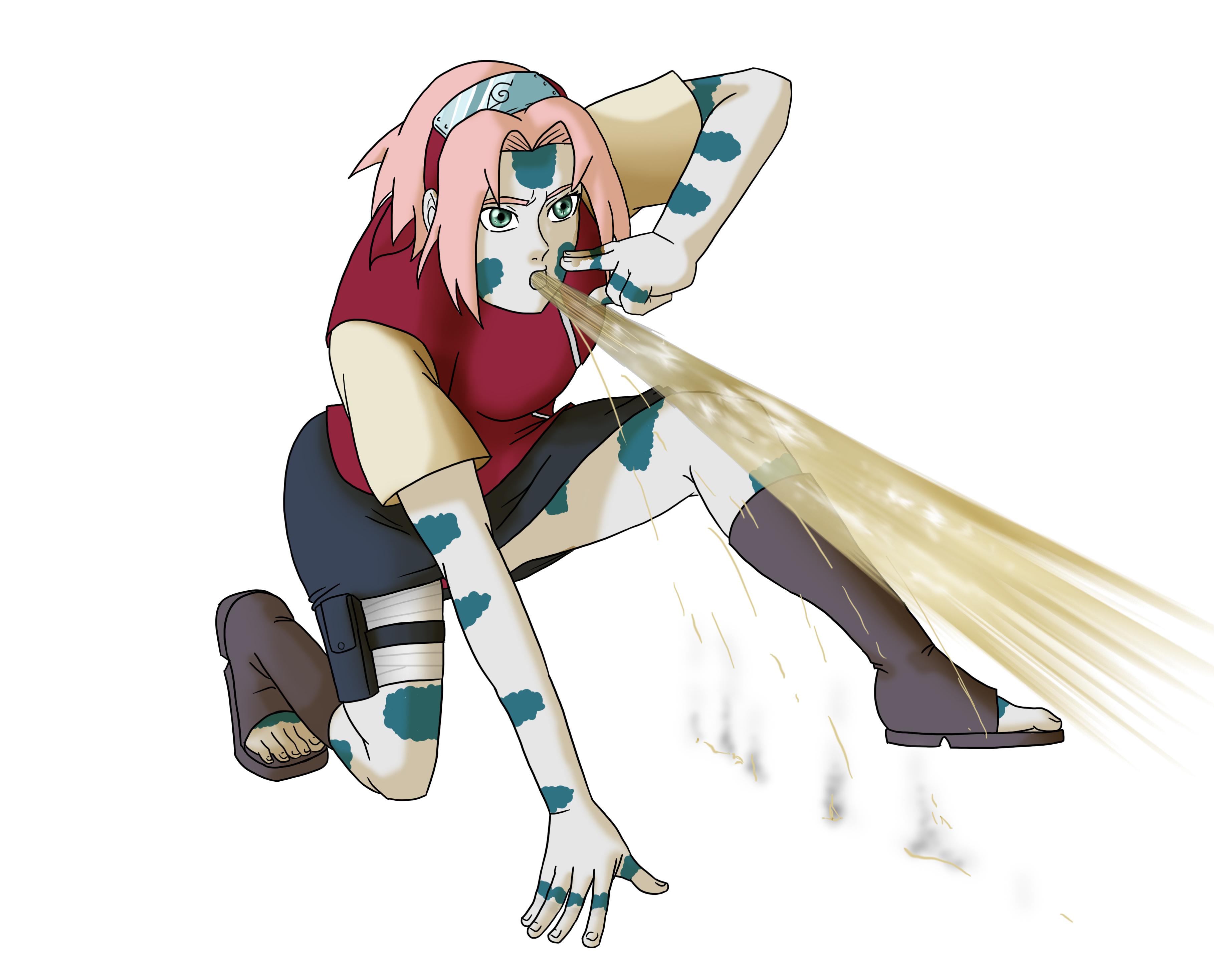 Sakura Jutsu: Slug Fusion Jutsu by mattwilson83 on DeviantArt