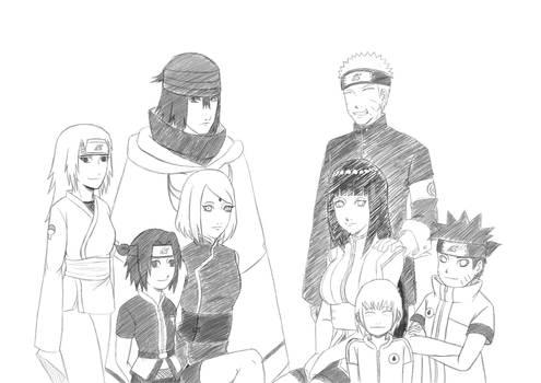 NaruHinaSasuSaku Last OC kids