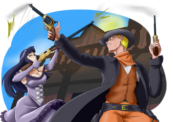Speed Paint NaruHina the old west