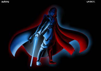 Matt Cave Draws STAR WARS - Torn between the Force by mattwilson83