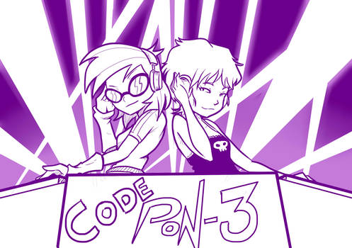 3 Equestria Girls/Code Lyoko - Code Pon-3