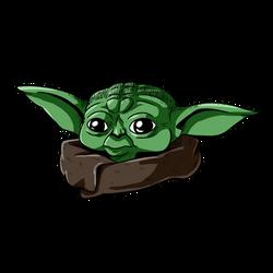 baby Yoda - When 50 years old you reach...