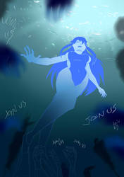 5 OC Kimi Shizuko Nightmare beneath the Waves