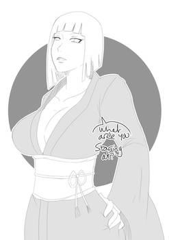 Sketch Theme - Kimono 18 - Samui