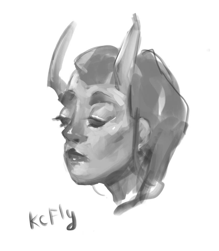 Su'ng girl by Kc-Fly
