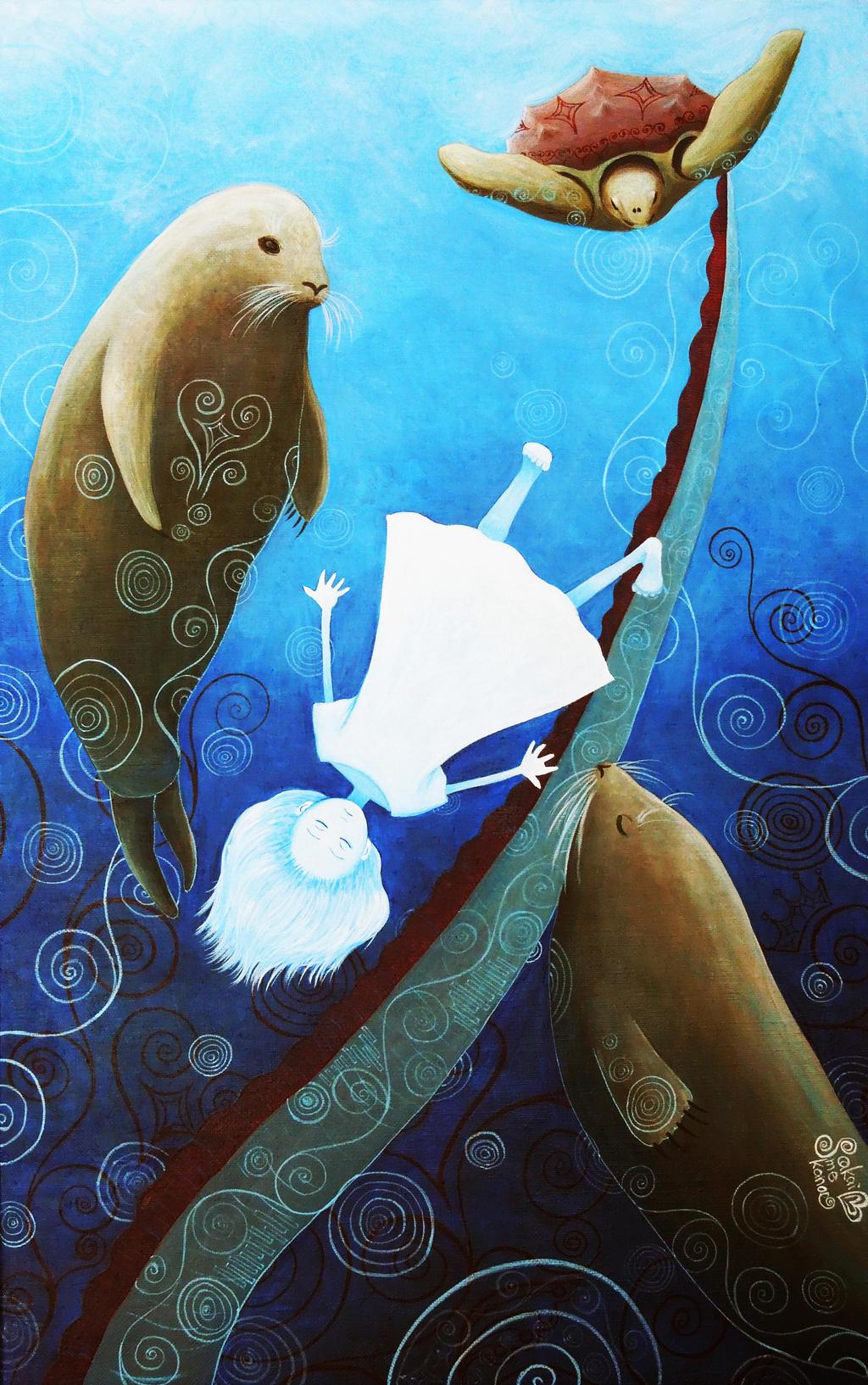 Into the sea by SakaimeKanae