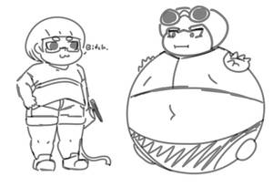 Sketch - Involuntary roommate